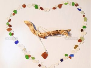 Beautiful Sea Glass Necklace