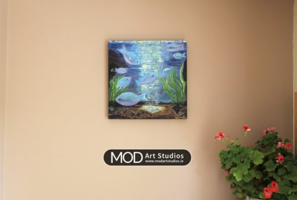 MOD Art-Ocean Light- Original Marine Life Art